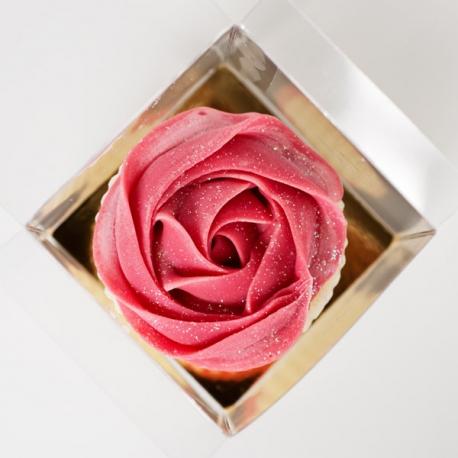 Savon Cupcake Perle de Rose parfum Fleuri