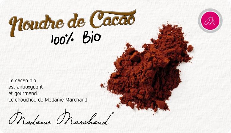 Le cacao bio est antioxydant et gourmand !