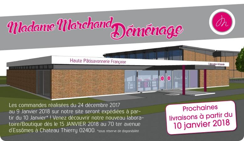 Nouveau laboratoire Madame Marchand